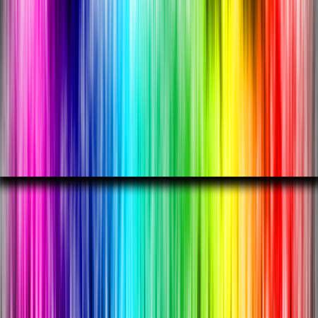 rainbow background: background Illustration