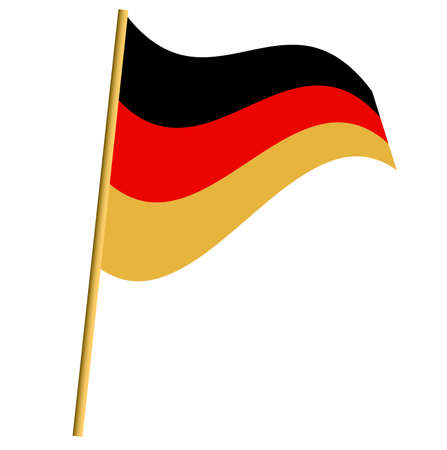German flag Stock Vector - 16442264