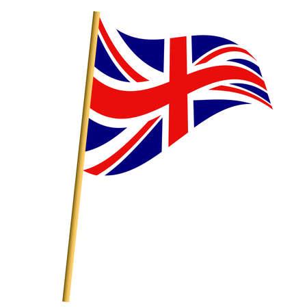 scottish flag: Bandiera inglese Vettoriali