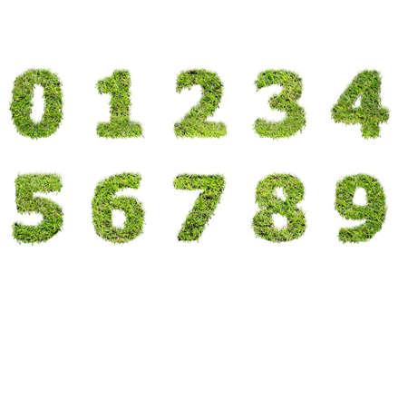 number Banco de Imagens - 17007891
