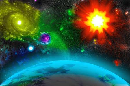 universe Stock Vector - 17710761