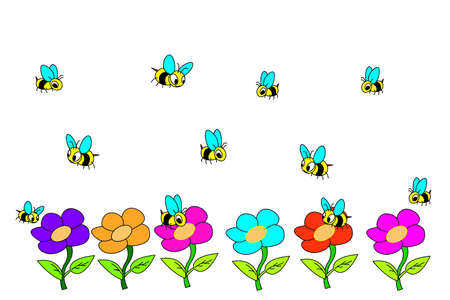 april clipart: Bee