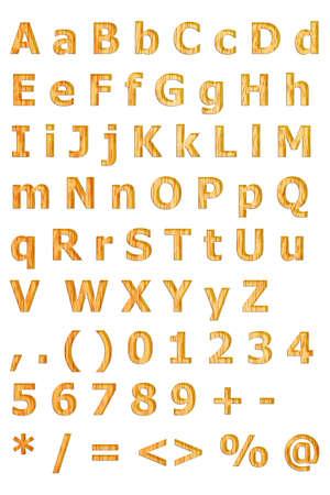 fonts Stock Vector - 18234723
