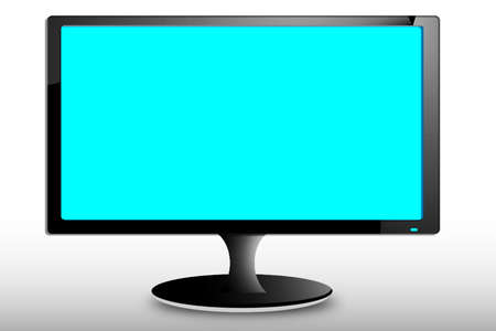 monitor Stock Vector - 18234722