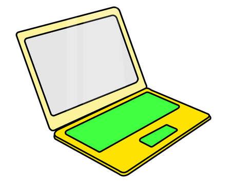 vecter: laptop