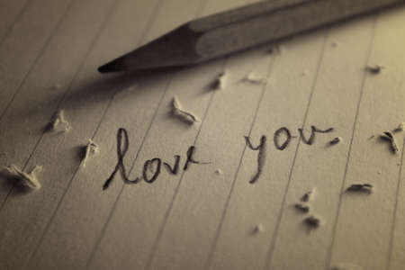 あなたを愛してペーパー ノート