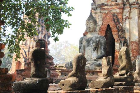 ayuthaya: Old Temple of Ayuthaya, Thailand