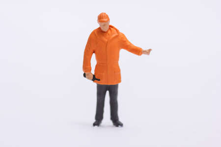 miniature figurine of people standing photo