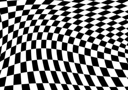 checkerboard elements background Stock Photo