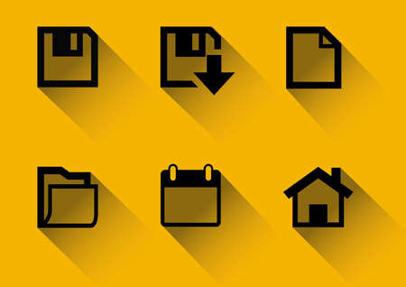 Icons For Web Vector