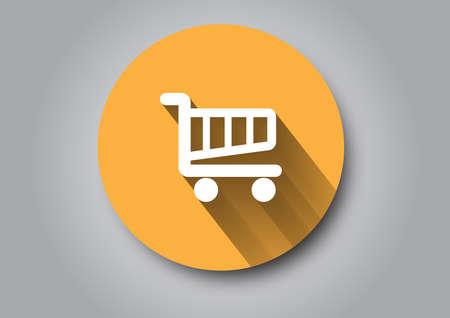 Shopping Cart icon Banco de Imagens - 41494889