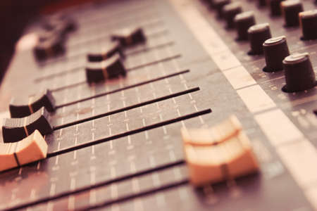 audio mixer: audio mixing