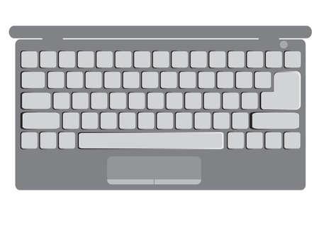 keypad: laptop