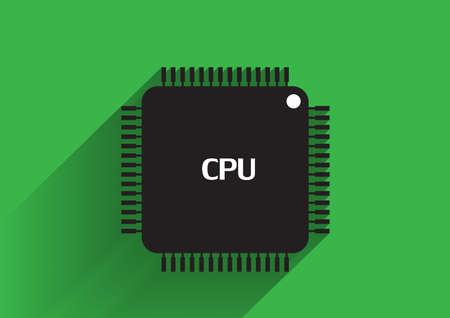 semiconductor: cpu icon