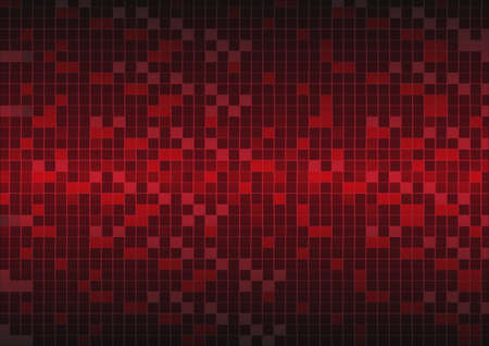 mosaic: Red Grid Mosaic Background