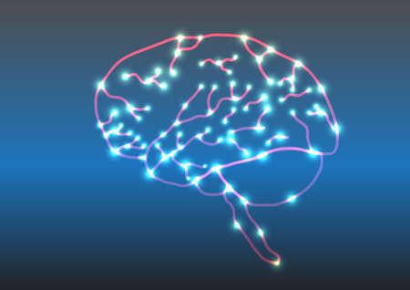 脳  イラスト・ベクター素材