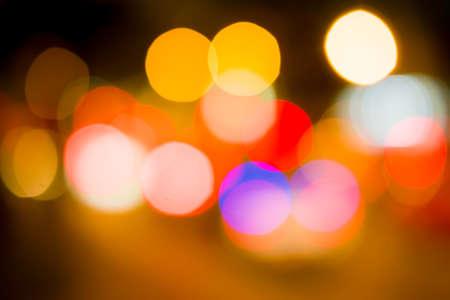 bokeh lights: defocused bokeh lights