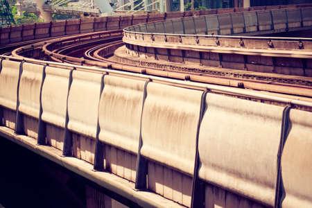 railway transportation: Transportation railway Stock Photo