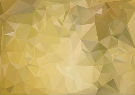 cian: Polygonal blue gold background