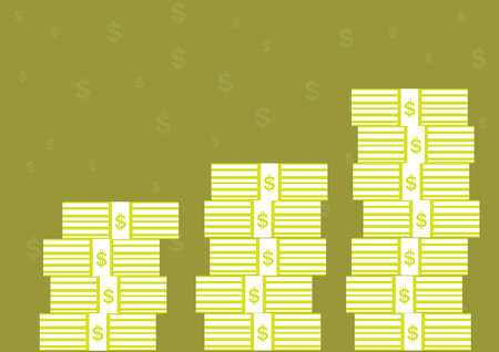 money pile: The pile of money