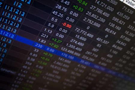 stock: Stock Market board
