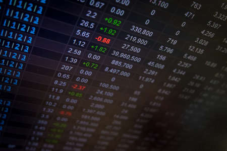 nasdaq: Stock Market board