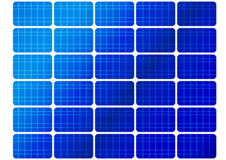 voltaic: illustration of a solar cell pattern