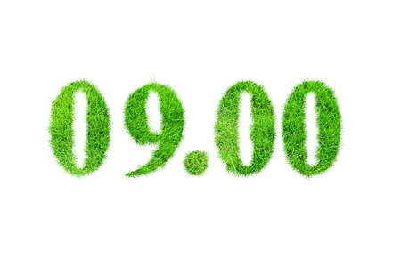 numbers: Grass numbers
