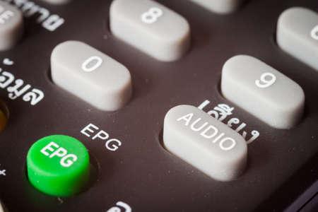 button audio on Remote