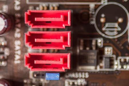 SATA ports on Motherboard