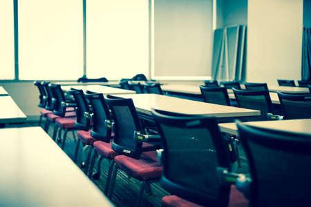 教室の近代的な建物 写真素材