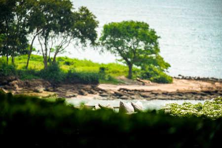 Mai island in the middle of the beautiful sea.