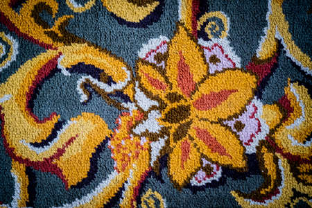Carpet from wool and silk of classical design Reklamní fotografie