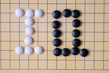 Go, an ancient Chinese board game , IQ Concept