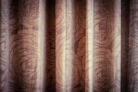 vintage romantic decoration nature wallpaper pattern Banco de Imagens