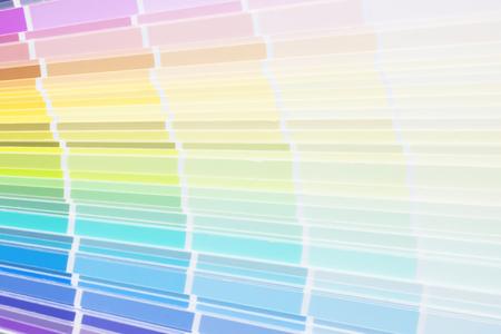 Sample color scheme for building design 写真素材