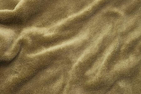 Brown towel sheets with copy-space