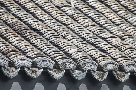 Ancient Chinese Roof Tiles
