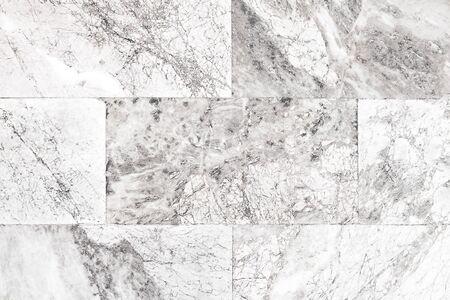 Gray marble stone tiled floor Stockfoto