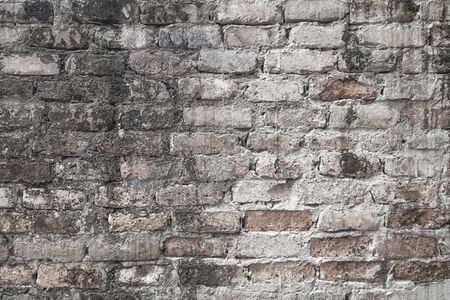 Old antique brick wall background