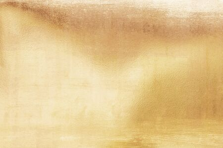 Gold background or textures and shadows, old walls and scratches