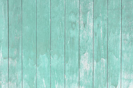 Old blue wood wall background with copy space