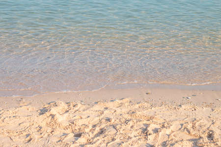 Beautiful sandy beach, clear water