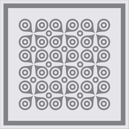 Abstract geometric pattern seamless background  Illustration