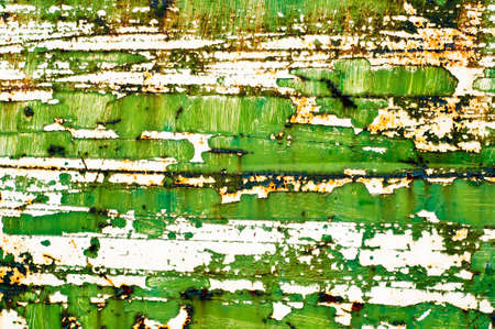 old paint on rusty metal surface  abstract dirty grunge texture background Stock Photo - 12369395