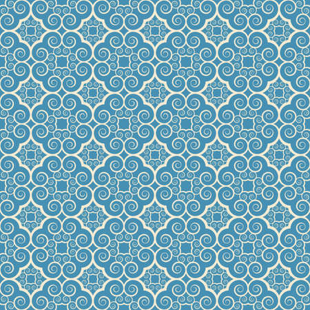 vintage seamless monochrome geometrical pattern background