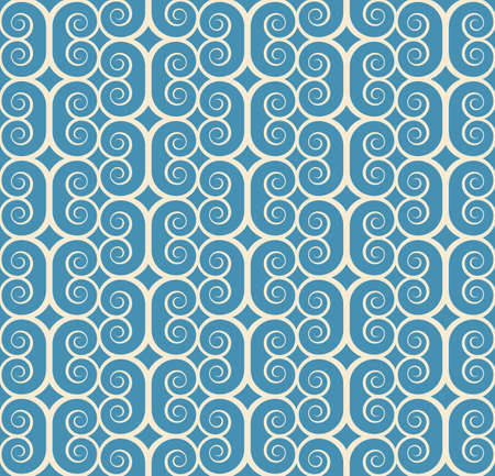 vintage seamless monochrome geometrical pattern background Vector