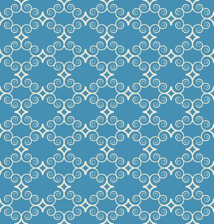 vintage seamless monochrome geometrical pattern background Vector