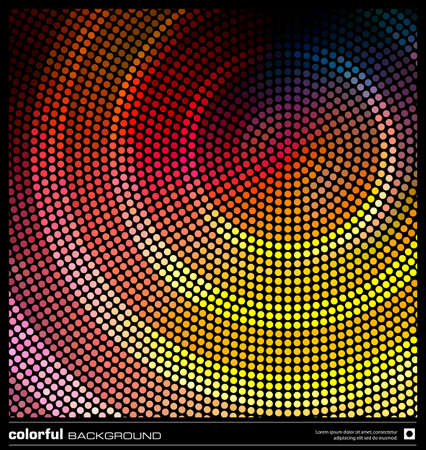 abstract mosaic background  colorful dots