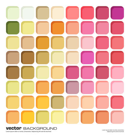 abstract colorful background. fresh colors mosaic vector illustration made by rectangles Illustration